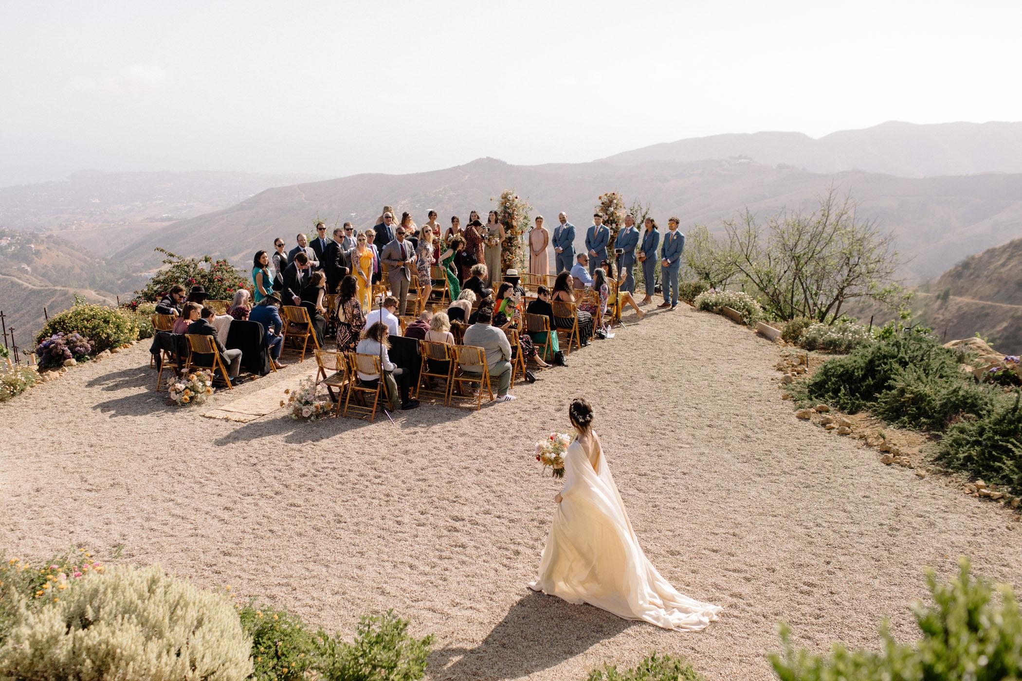 Spring Mountaintop Wedding