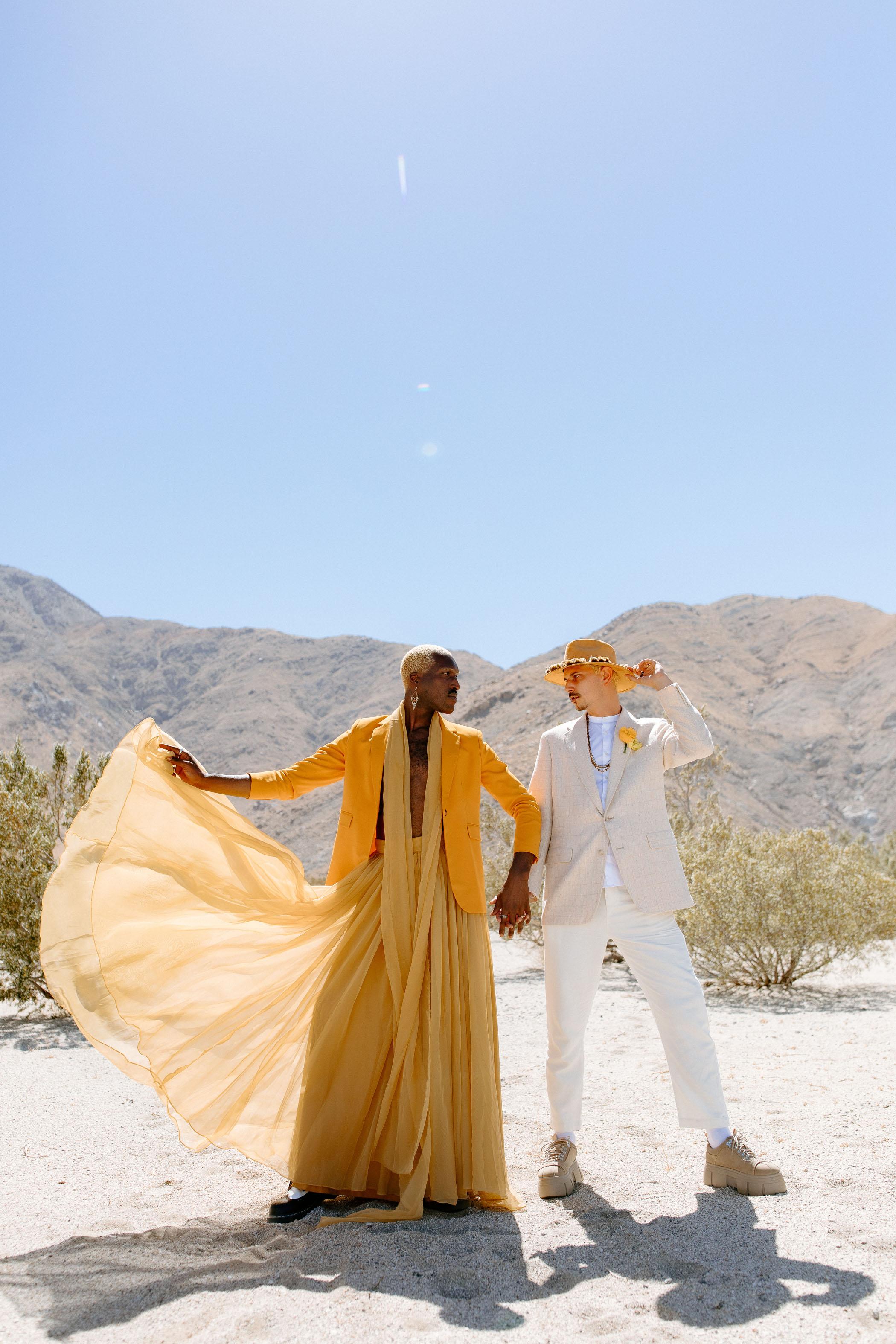 Non Binary Wedding Inspiration