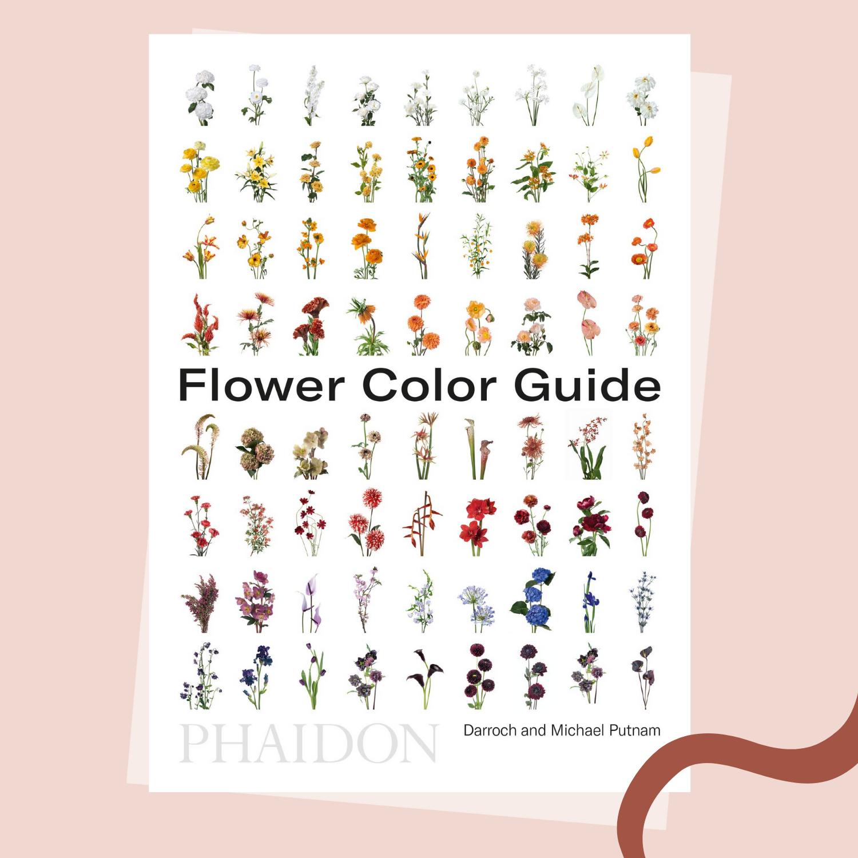 Flower Color Guide Wedding Planner Books