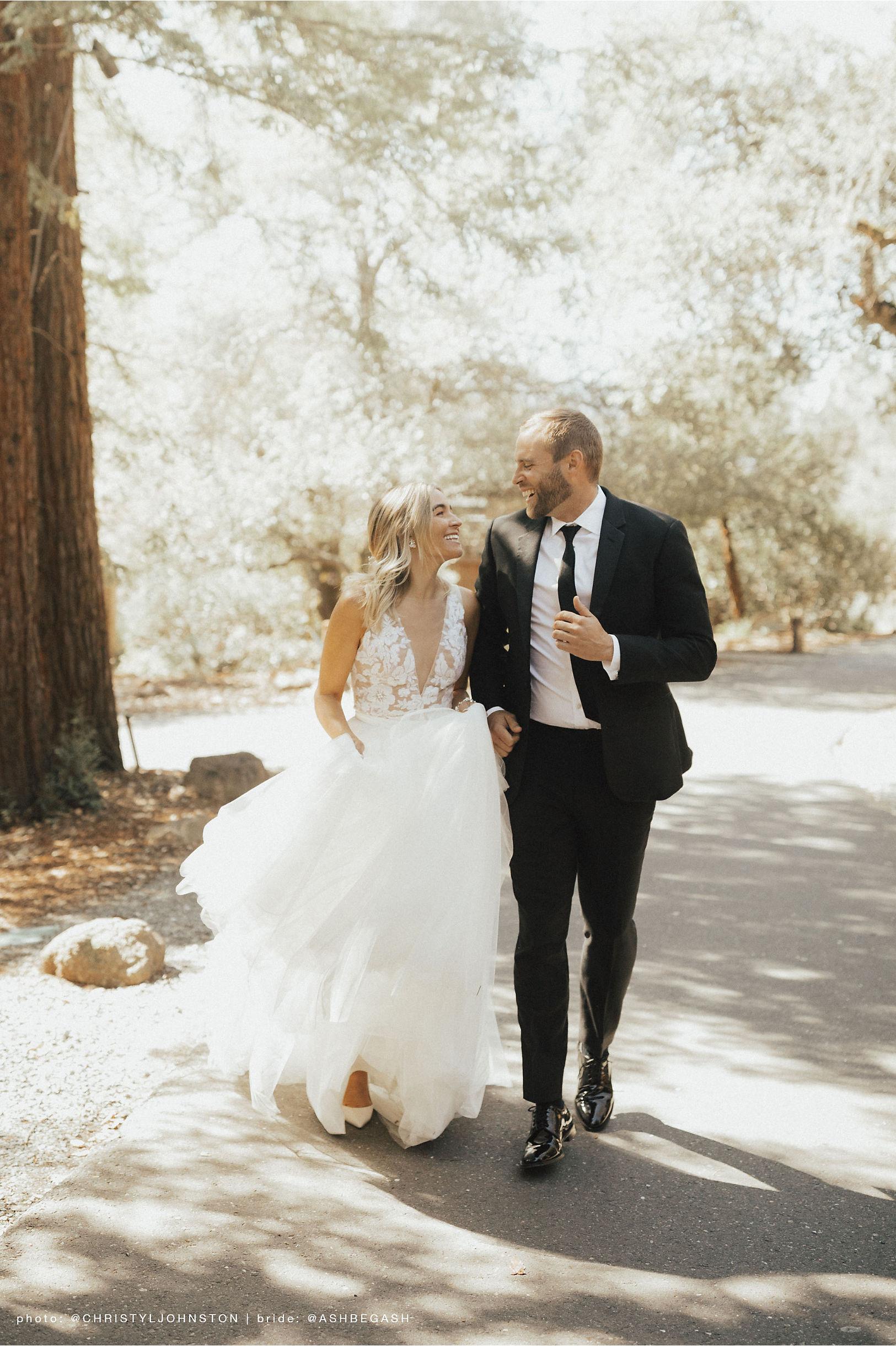 jenny yoo happy bride and groom