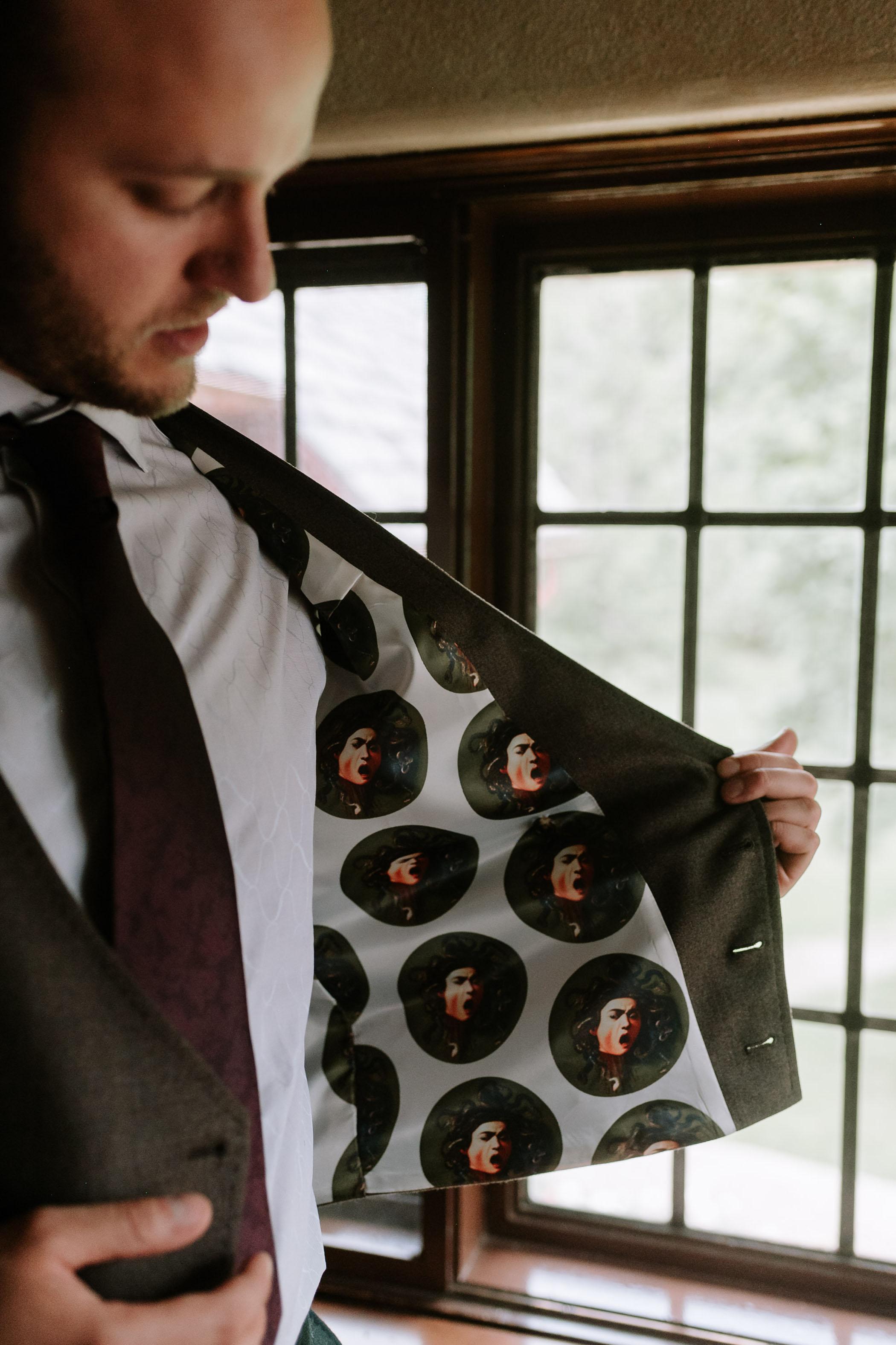 custom jacket lining