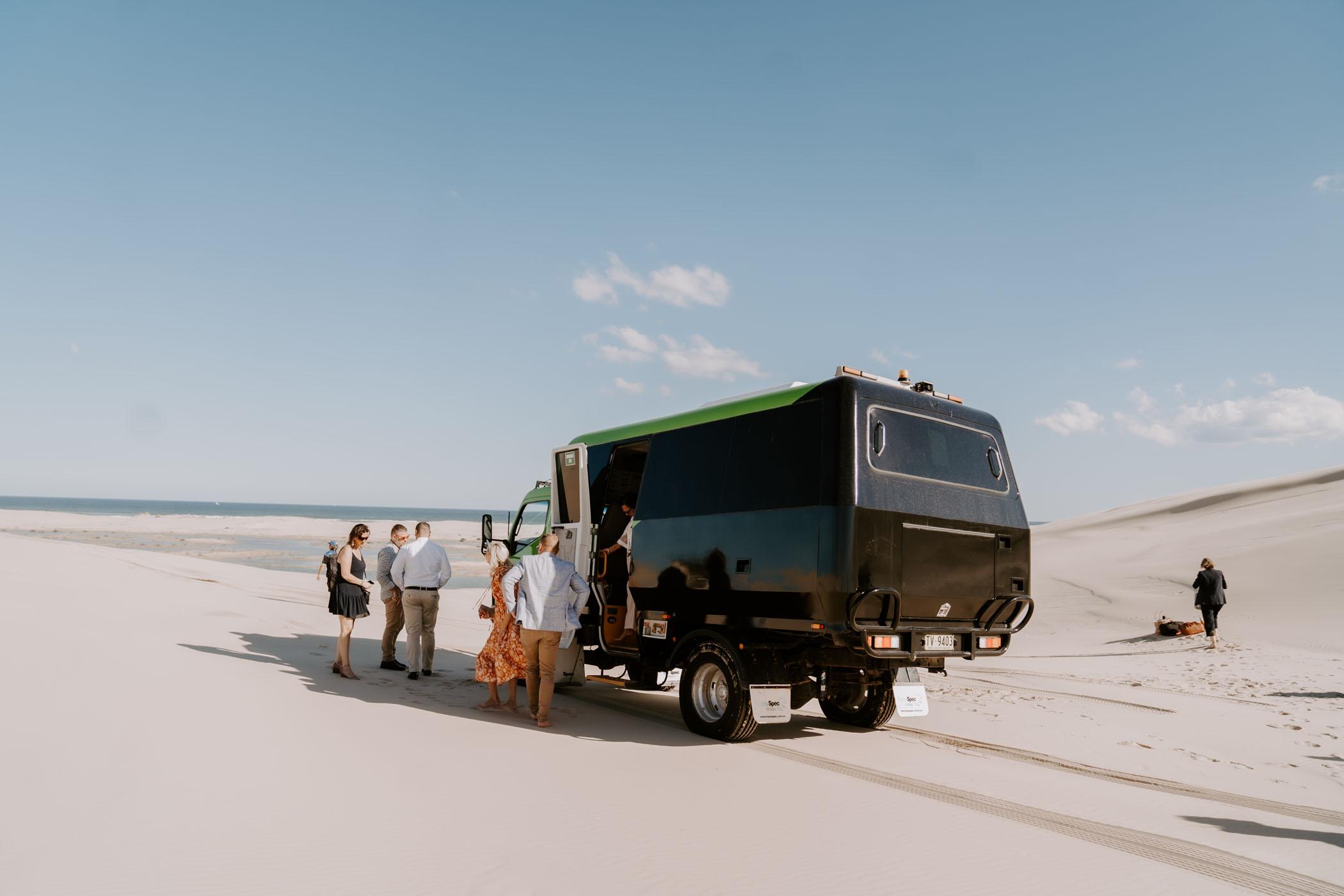 Australian Sand Dune Wedding