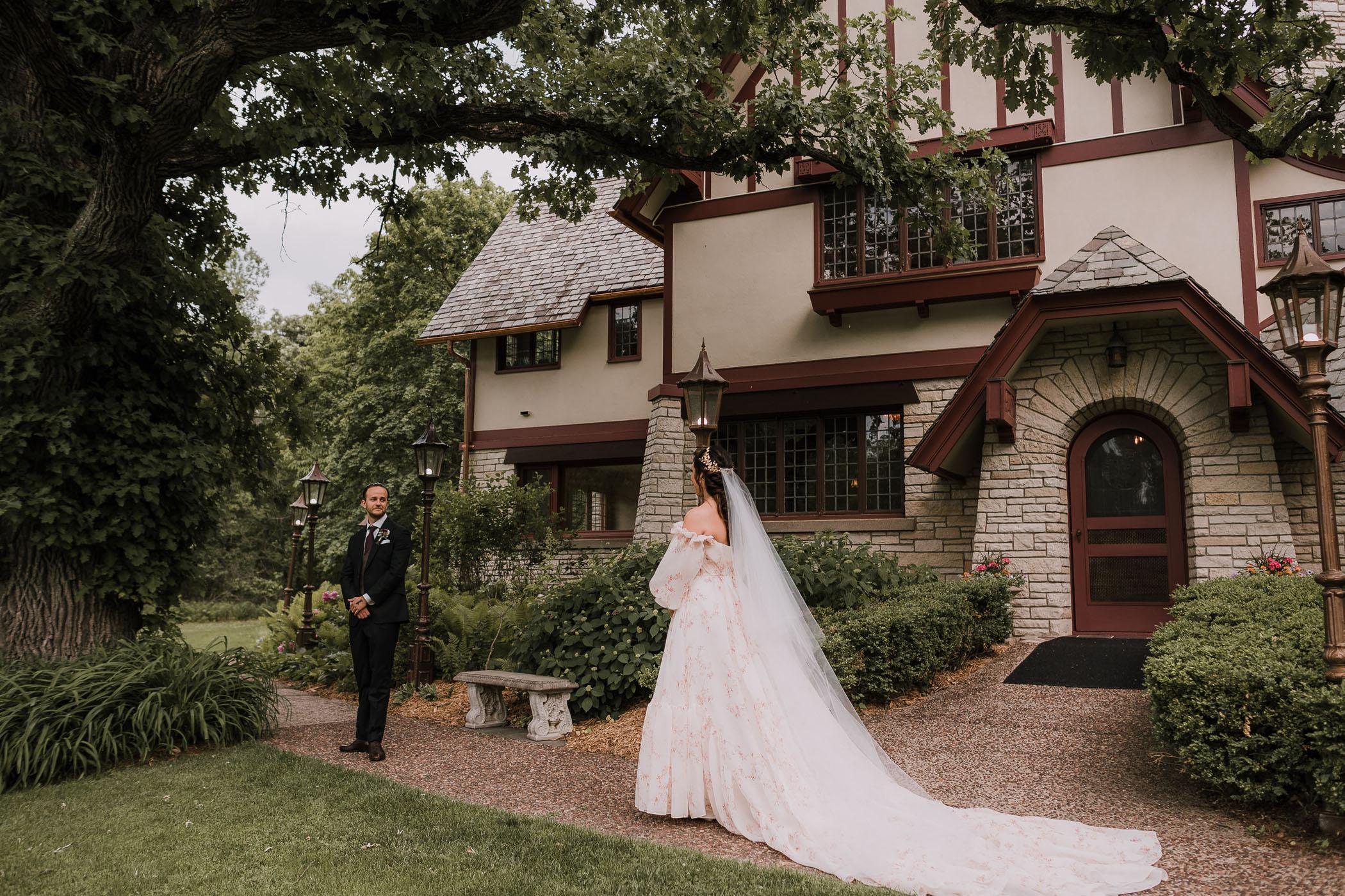Romantic Medieval Garden Wedding