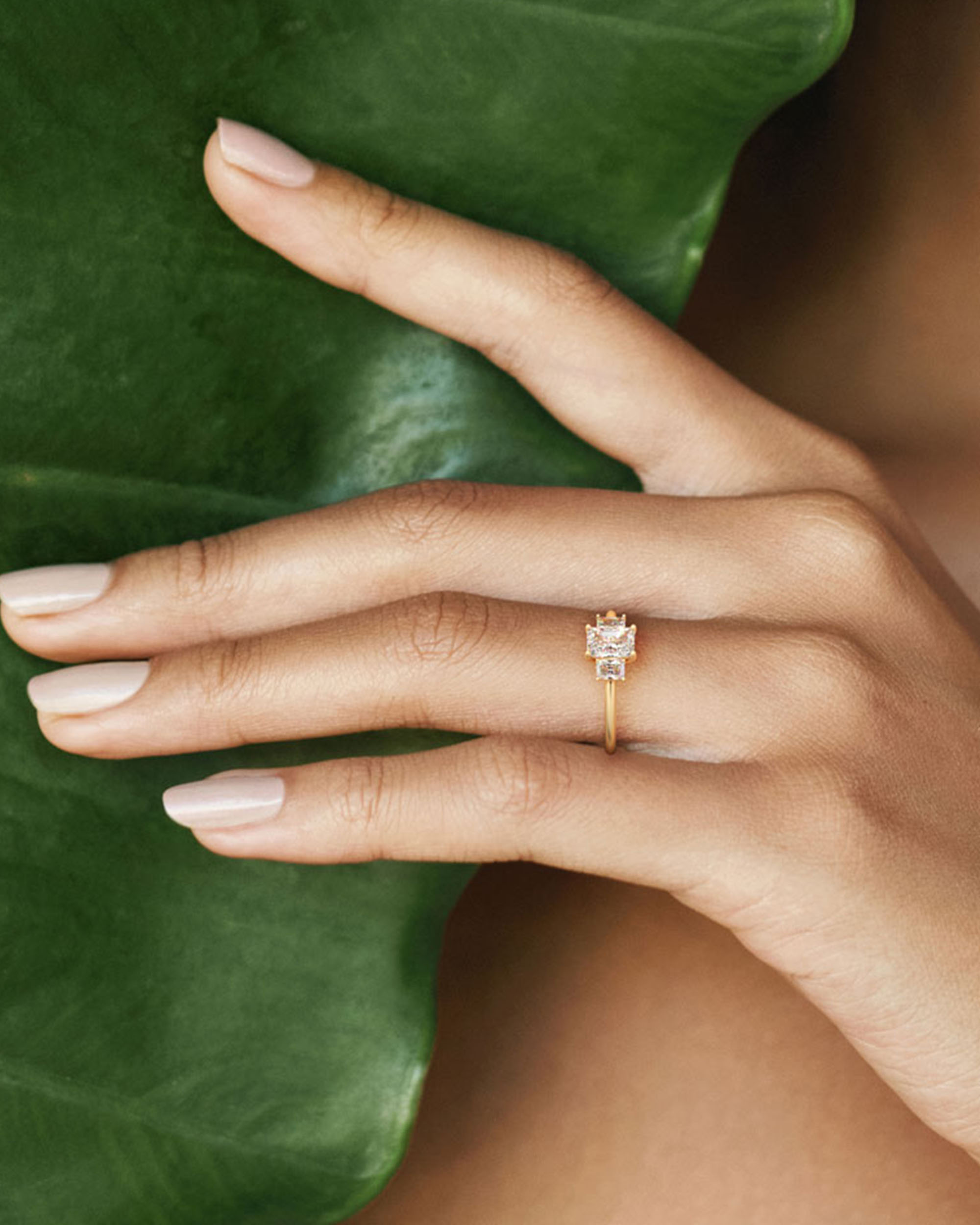 Unique + Sustainable Engagement Rings by Valley Rose Studio