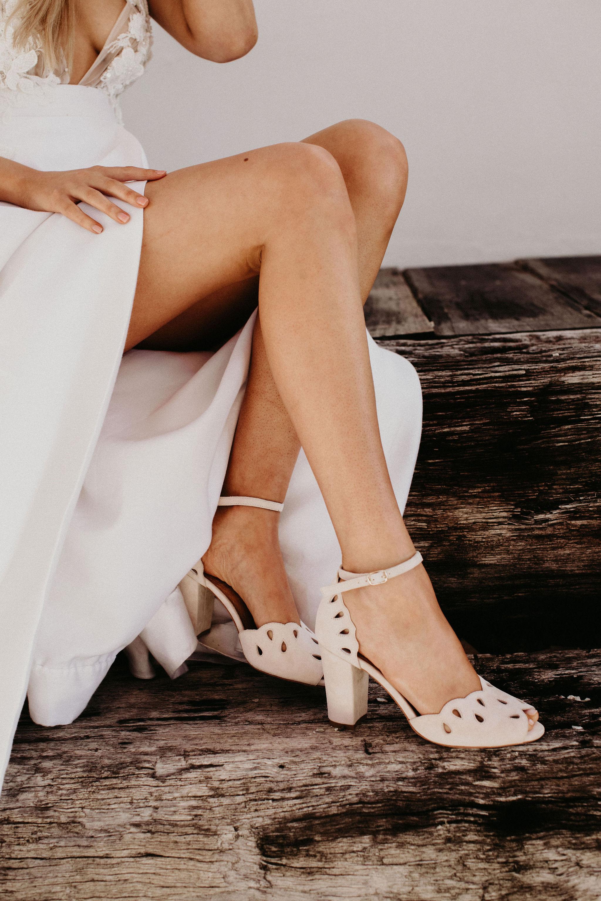 Vintage-Inspired Wedding Shoes