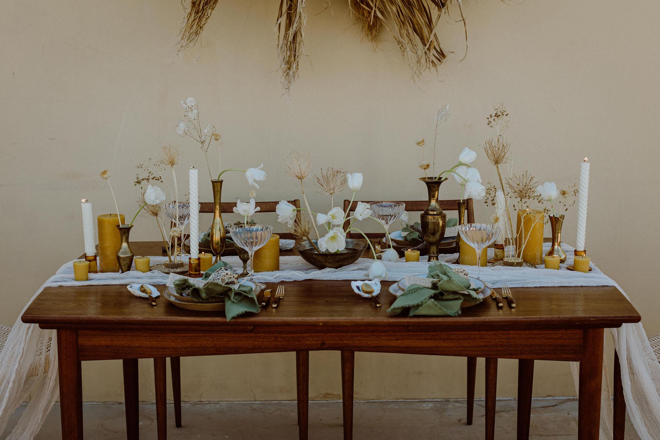 Ethical Wedding Reception Inspiration in Joshua Tree