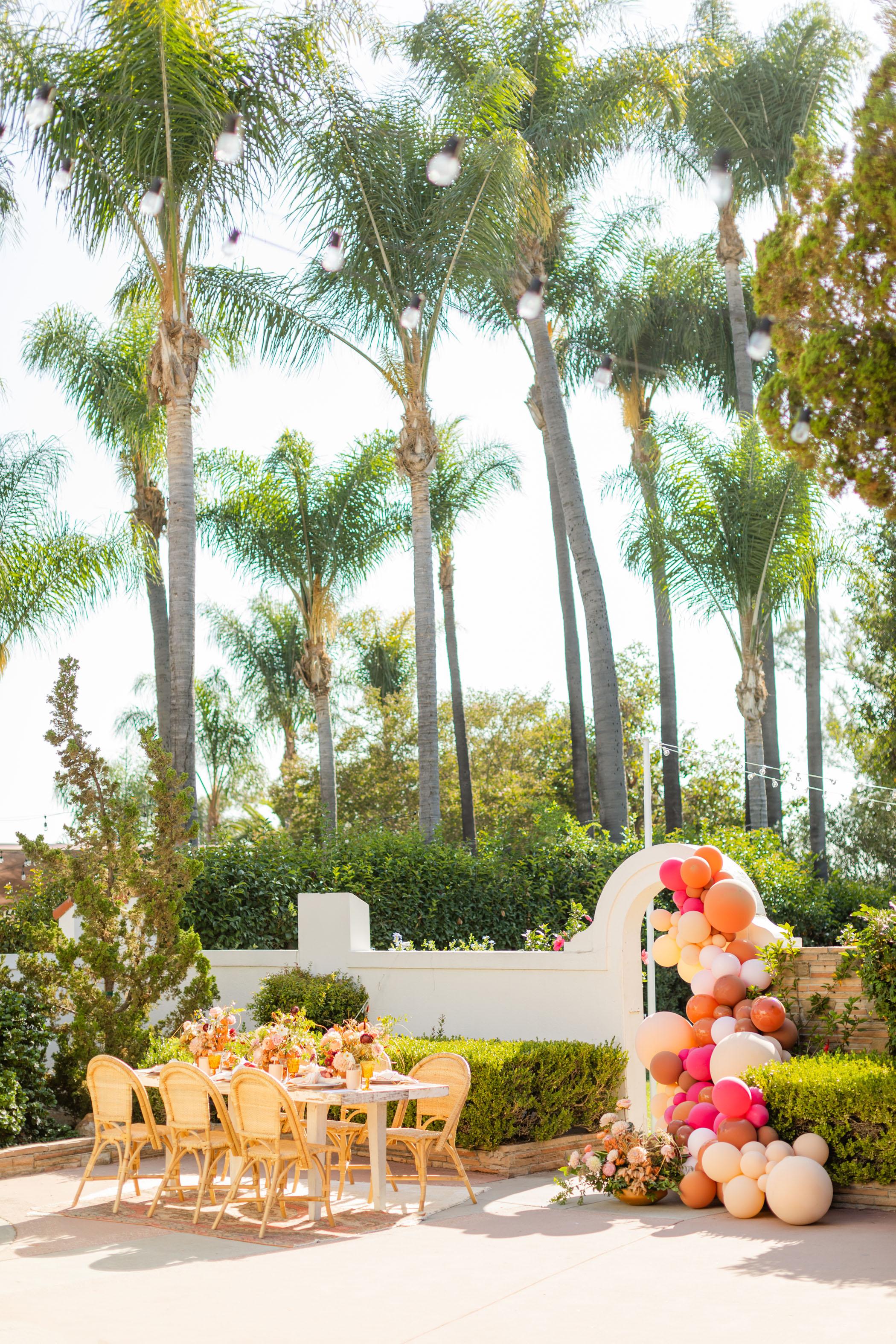 Vibrant Bridal Shower Table Inspiration