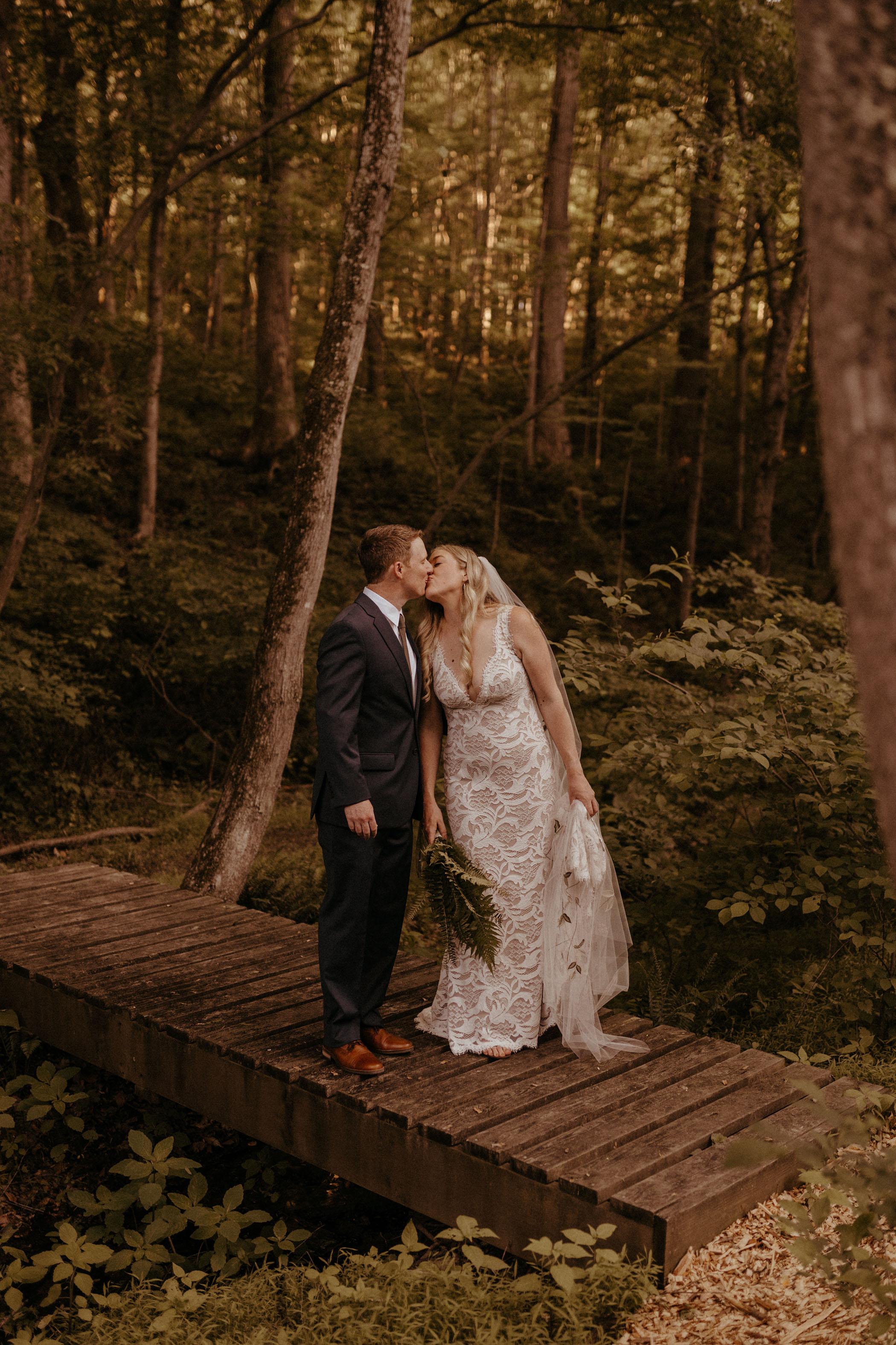 Maryland Woodland Mill Wedding