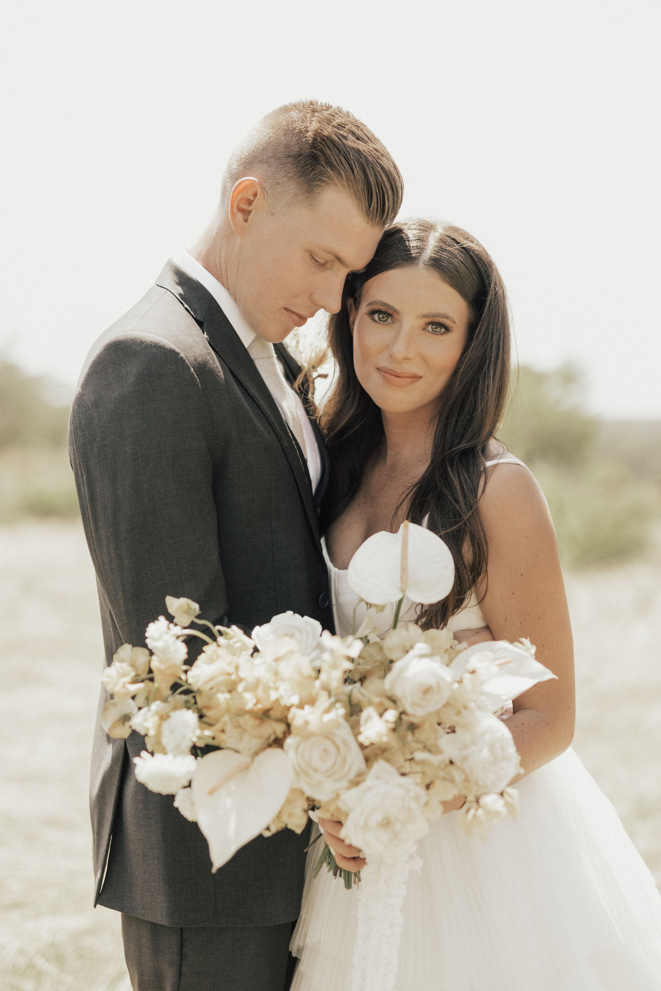 Neutral + Natural Bridal Makeup