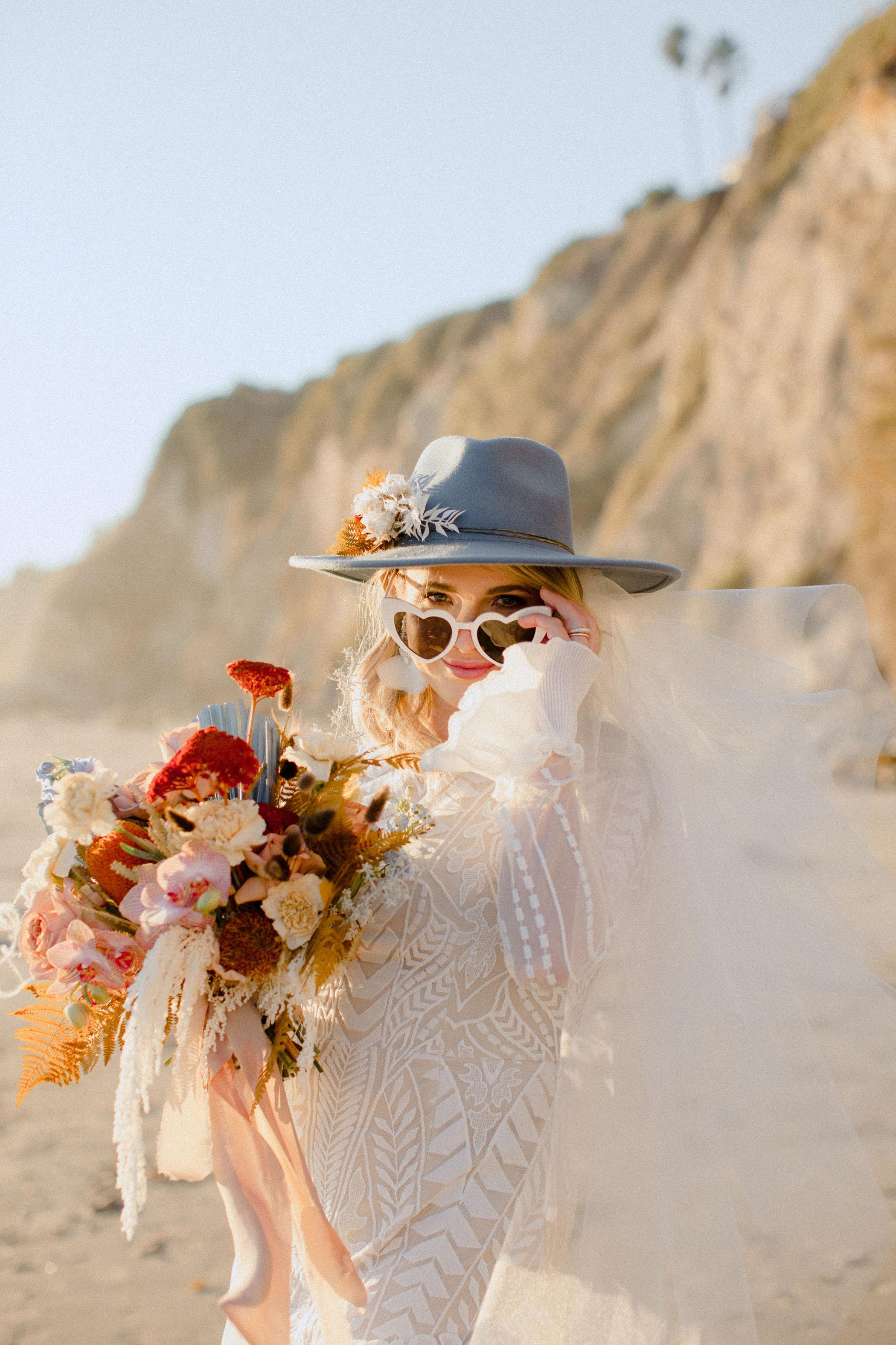 Heart Sunglasses Bride
