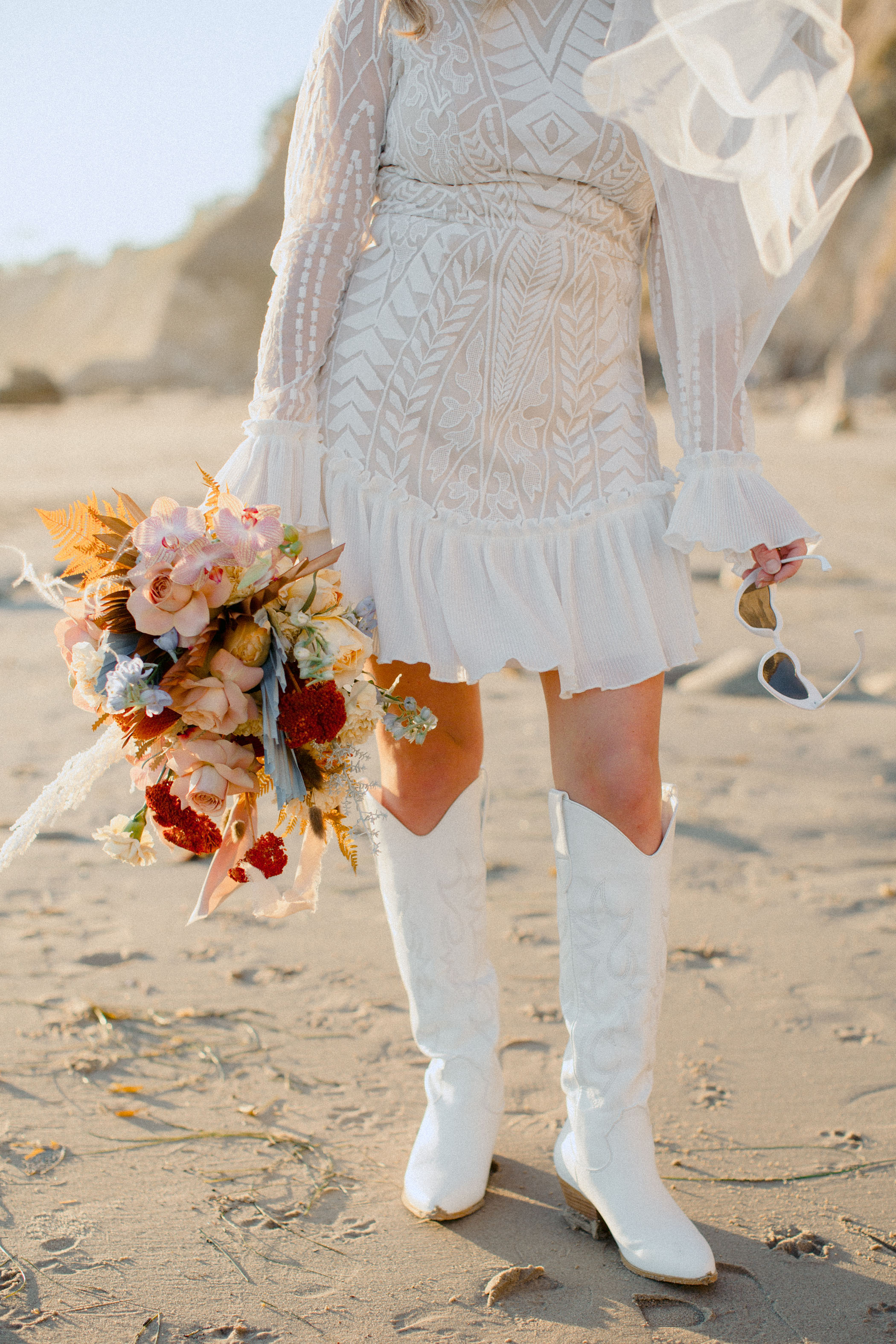 cowgirl boots bride