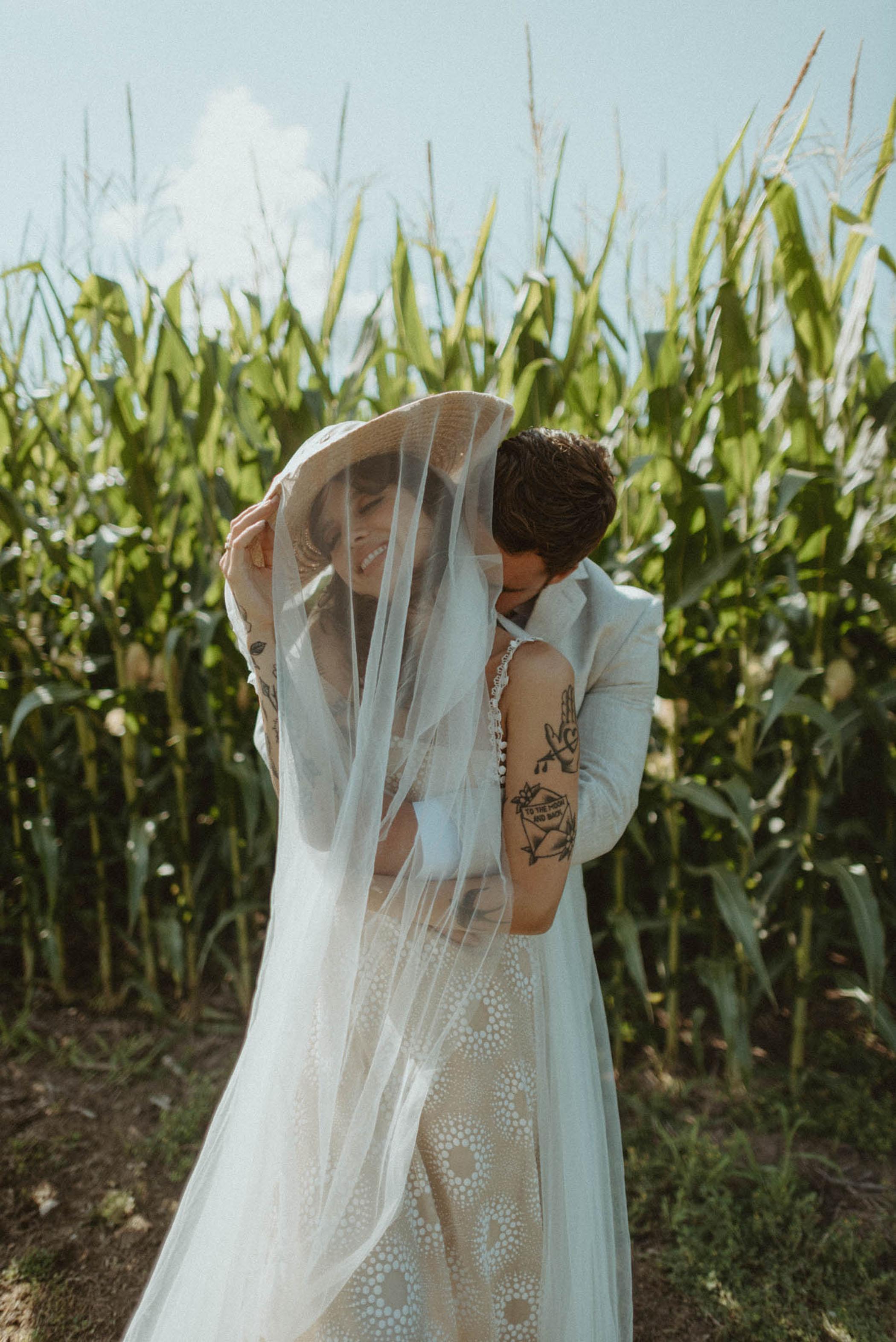 bridal hat veil