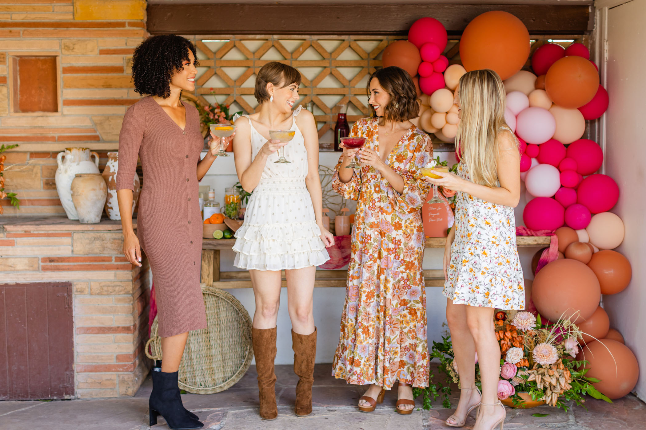 Dresses for a Fall Bridal Shower