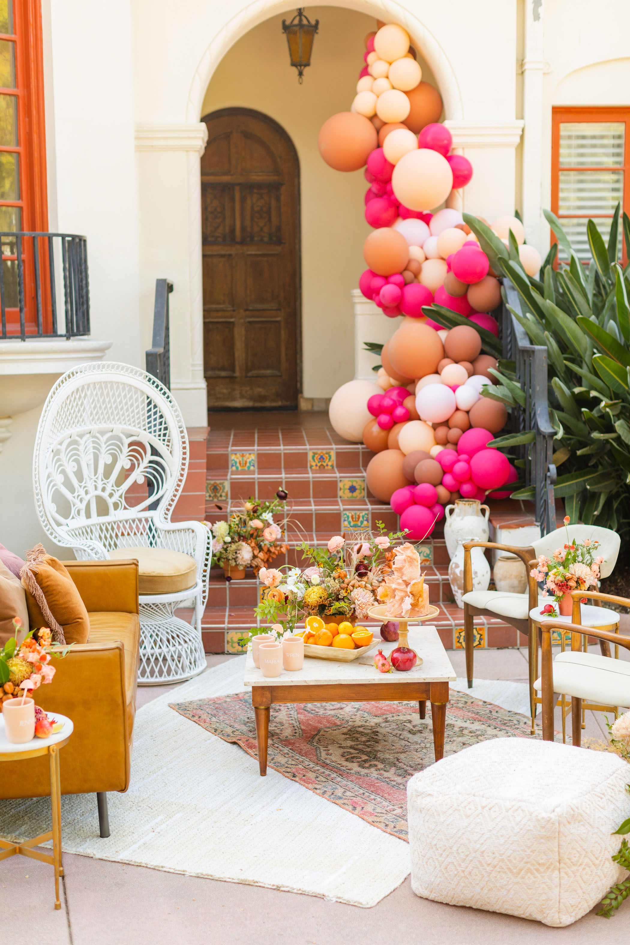 Lounge for a Fall Bridal Shower Inspiration