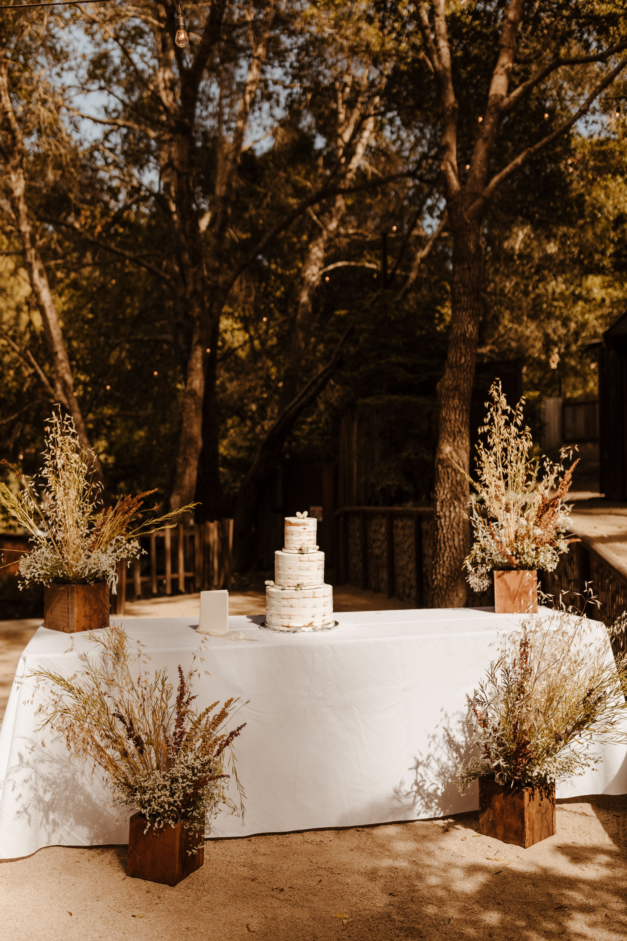 Whimsical Garden Wedding Reception in Big Sur