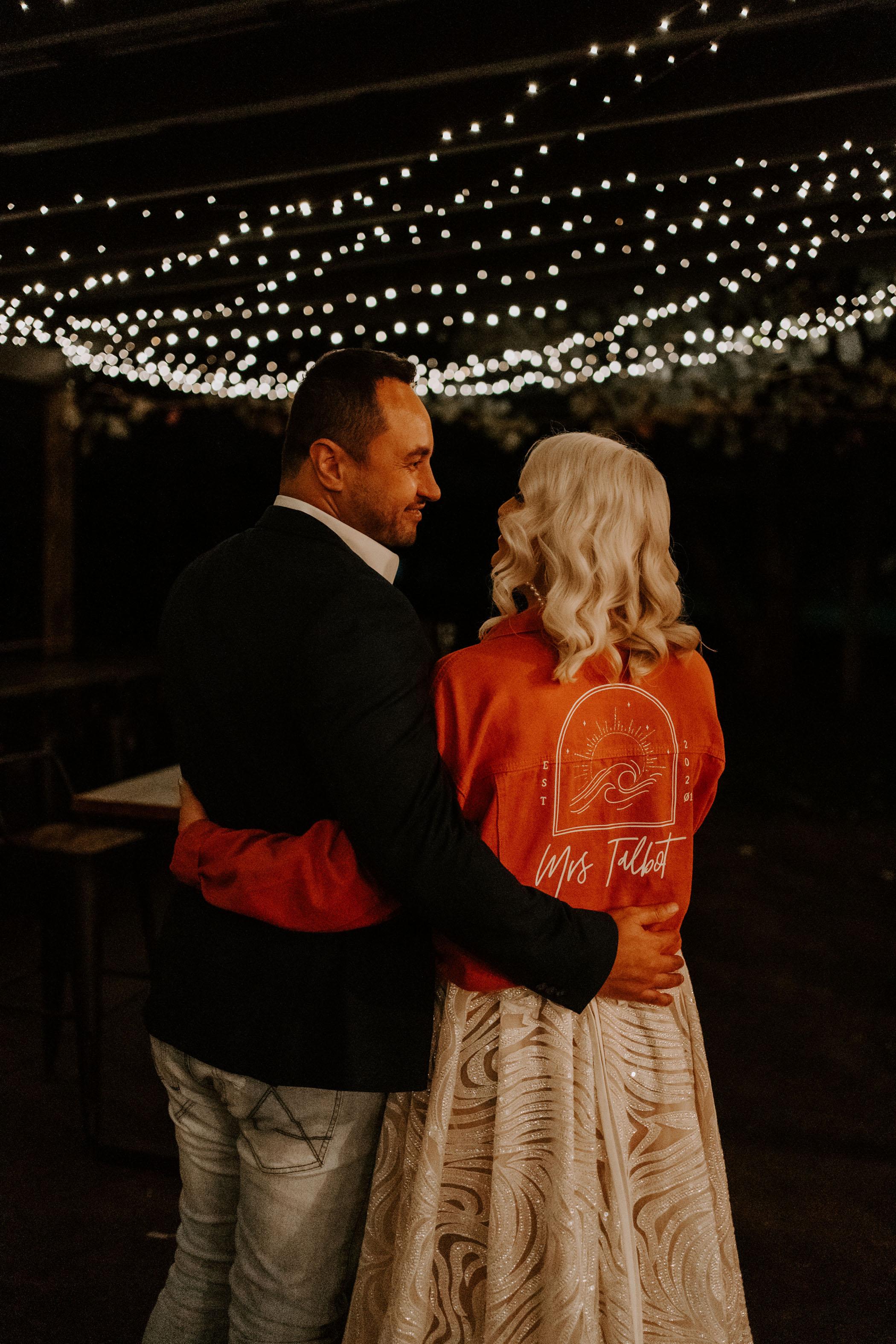 custom wedding jacket