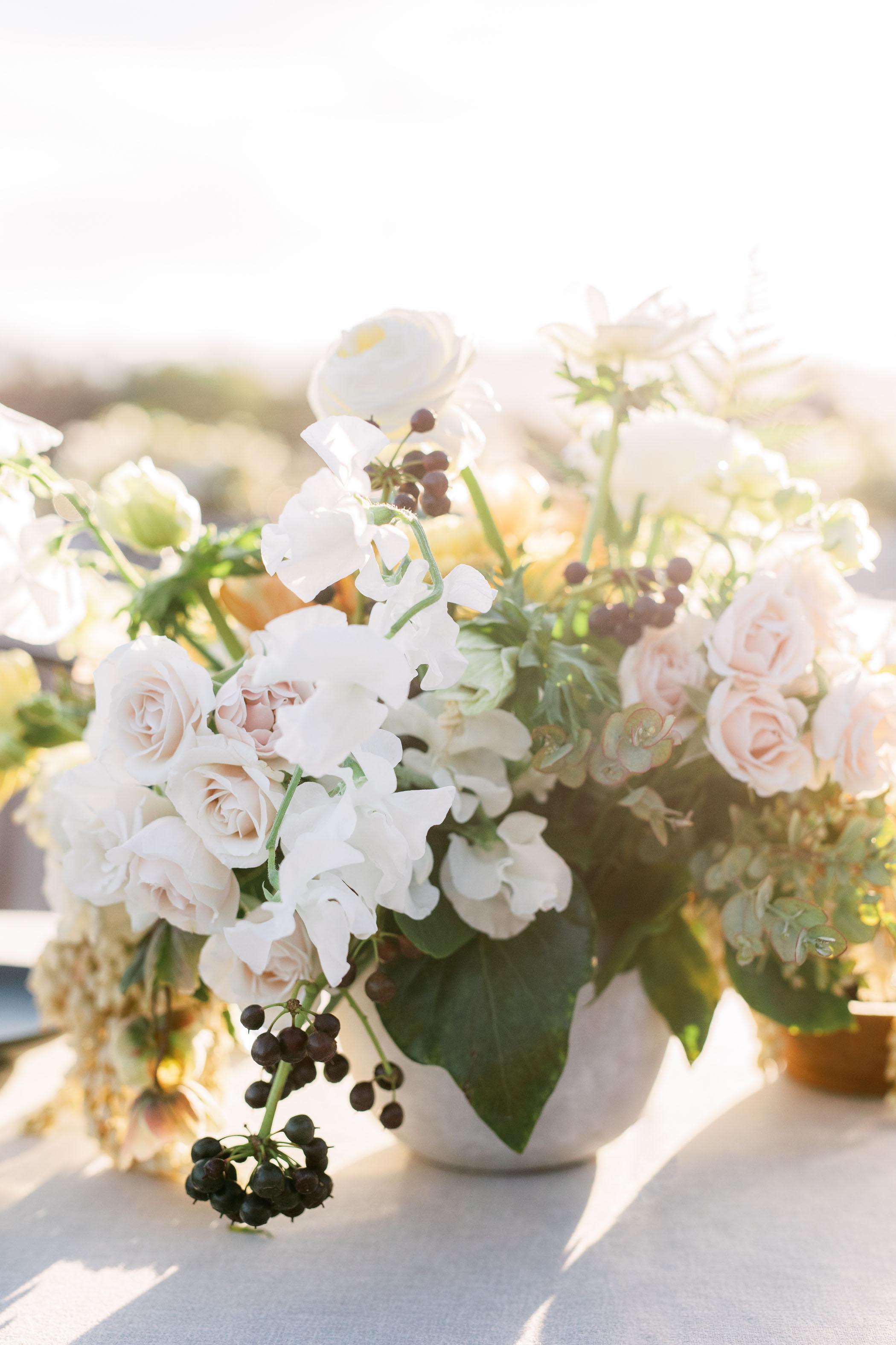 Modern Outdoor Wedding Reception Details