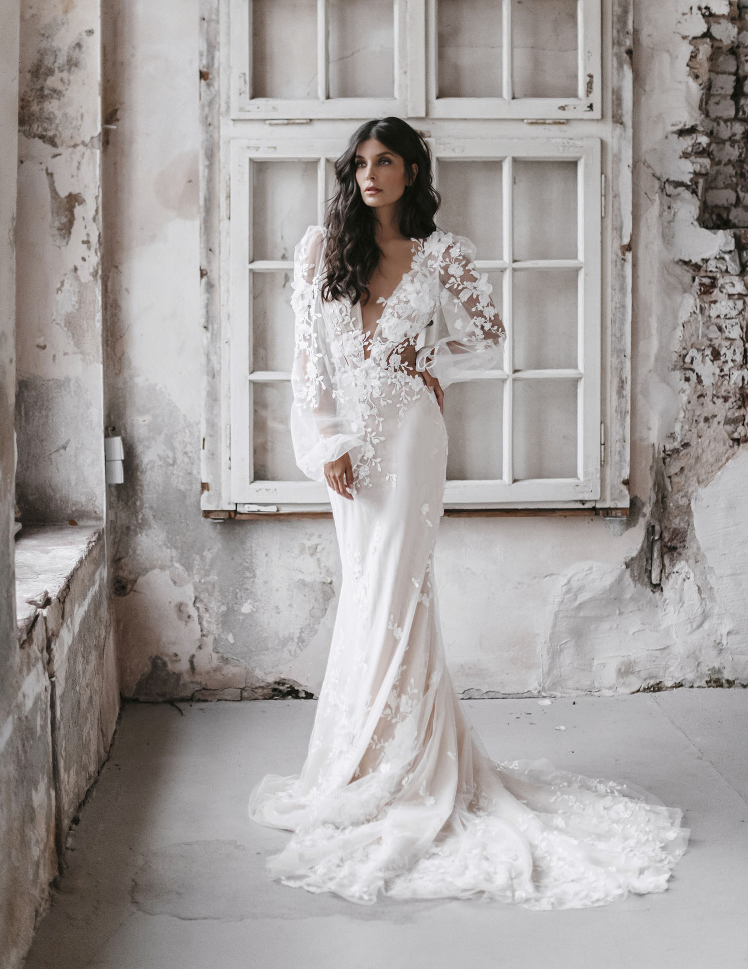ethereal romantic Tiana Gown
