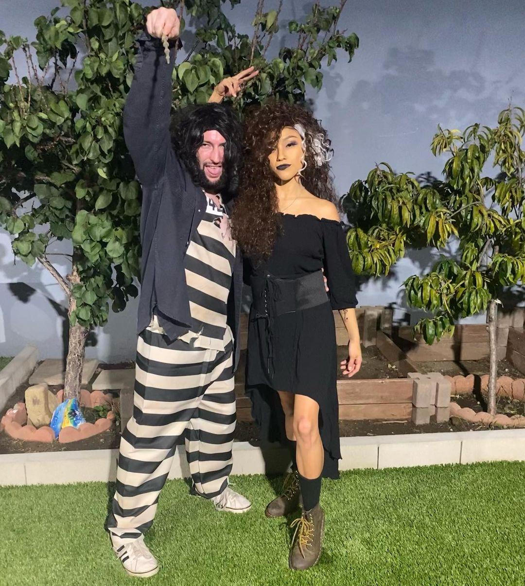 halloween couple costume harry potter bella sirius