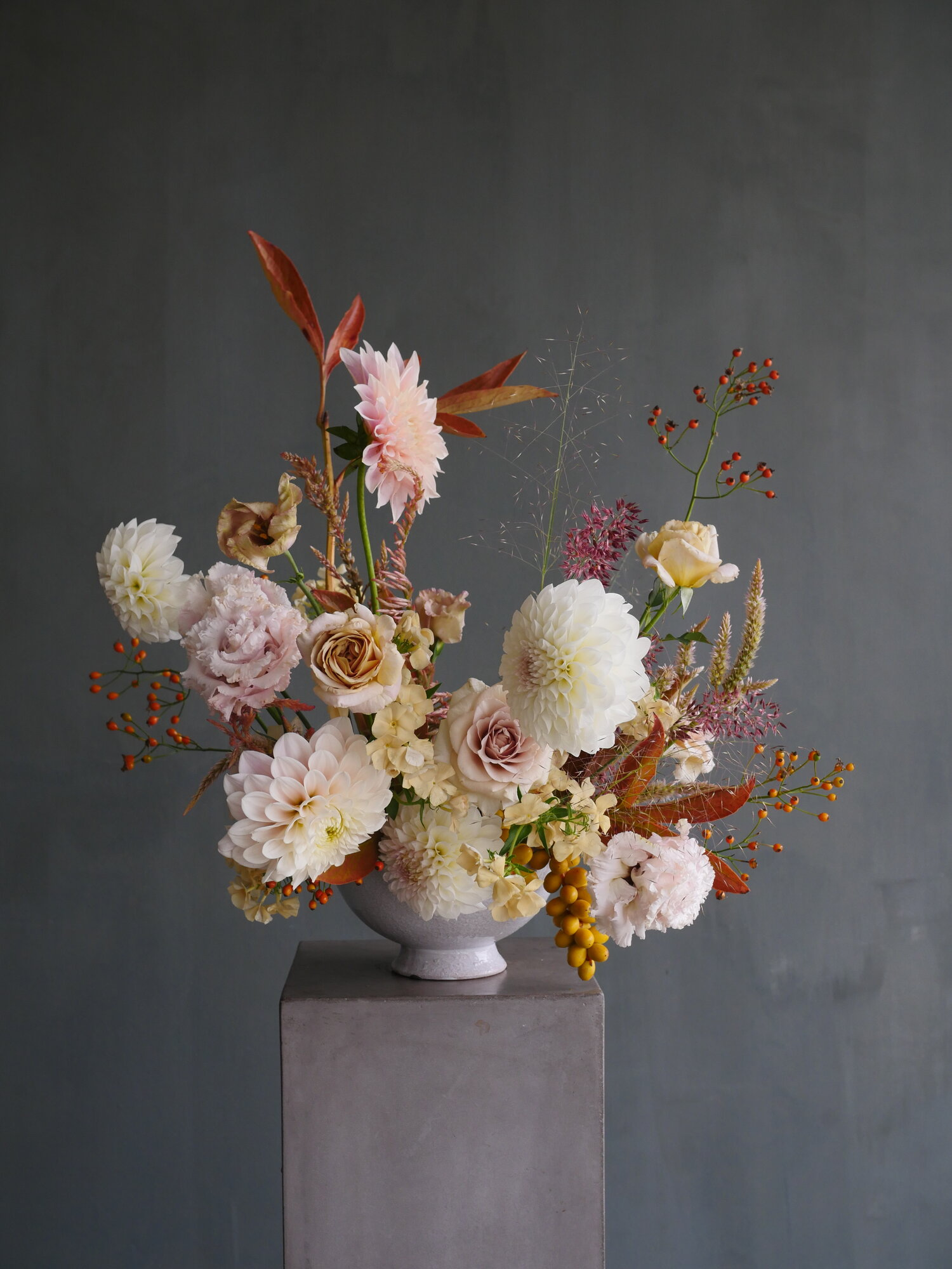 ornate flower bouquet by flowering minds
