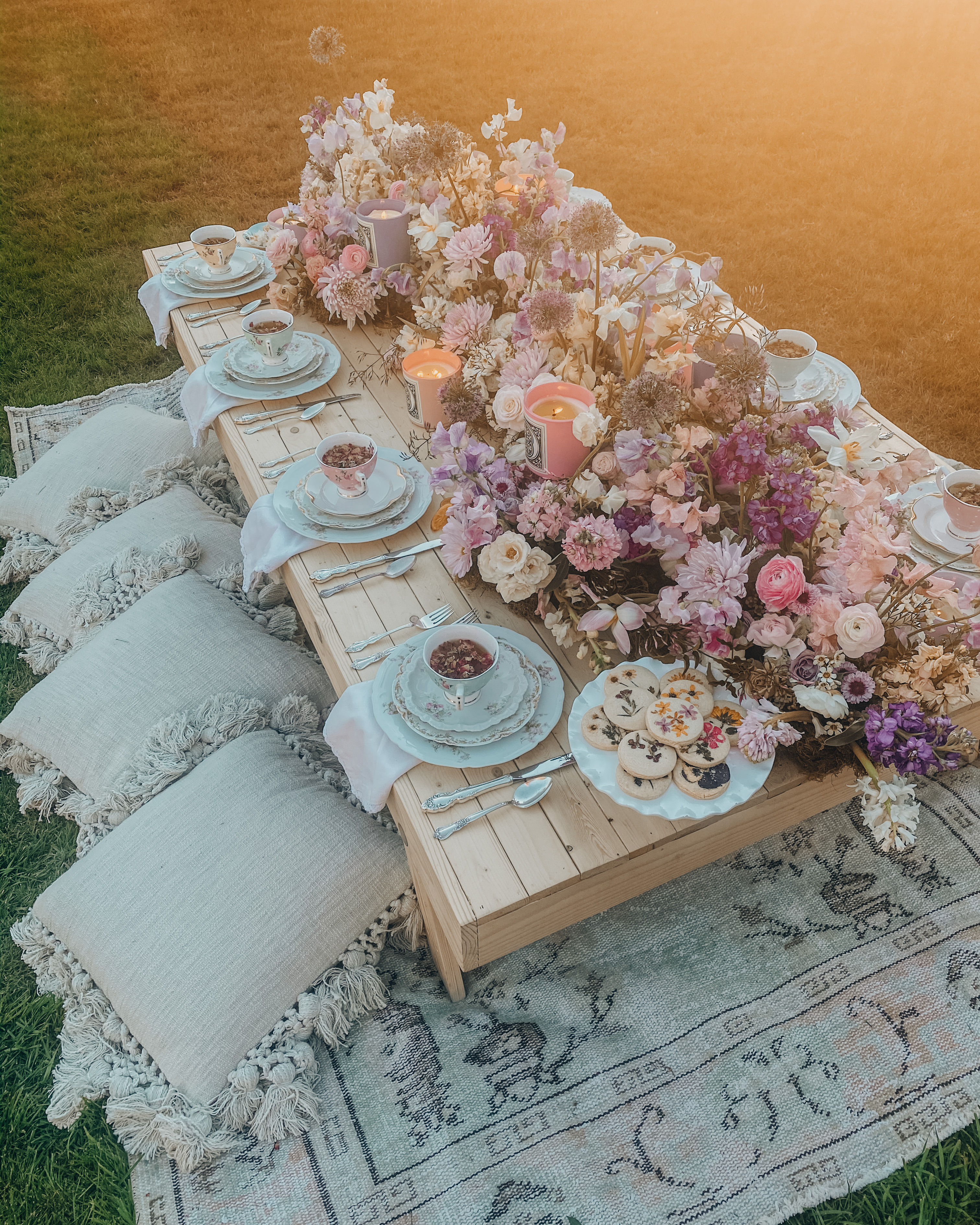 romantic luxury picnic by sunday and gather