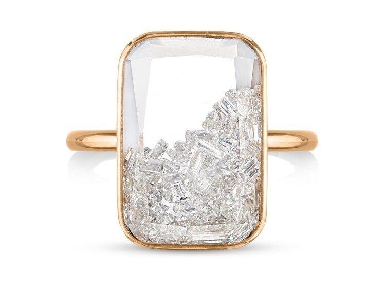 diamond kaleidoscope ring
