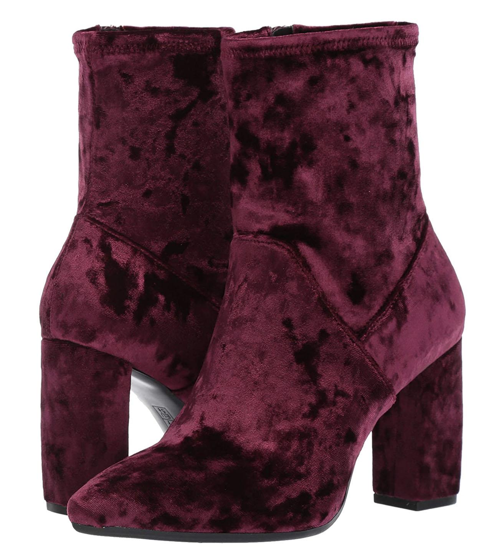 velvet wedding boots