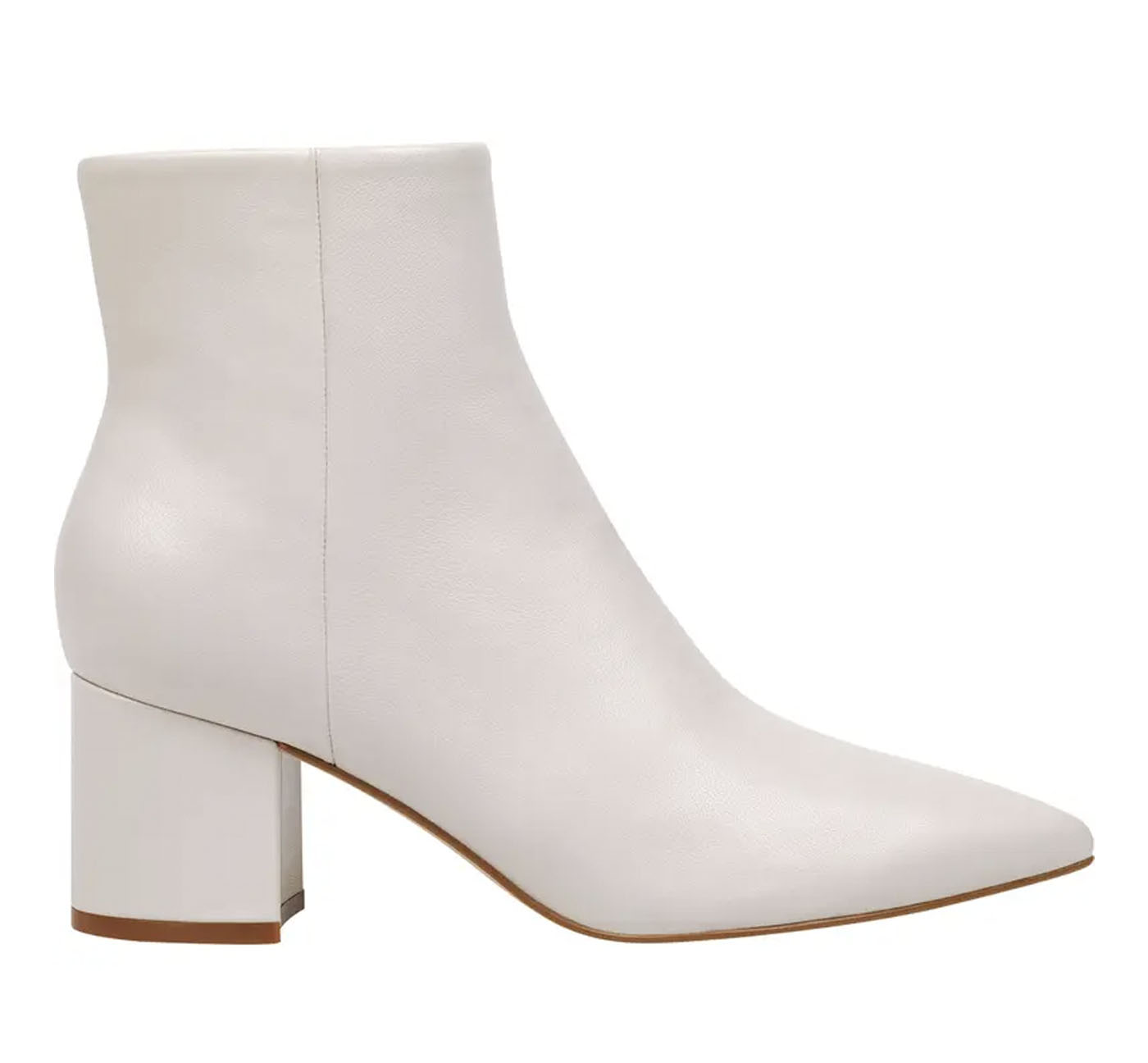 classic white bridal bootie for wedding