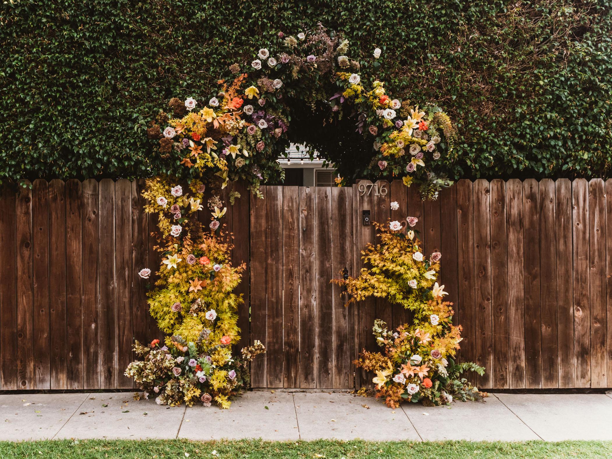 Los Angeles Backyard Micro Wedding