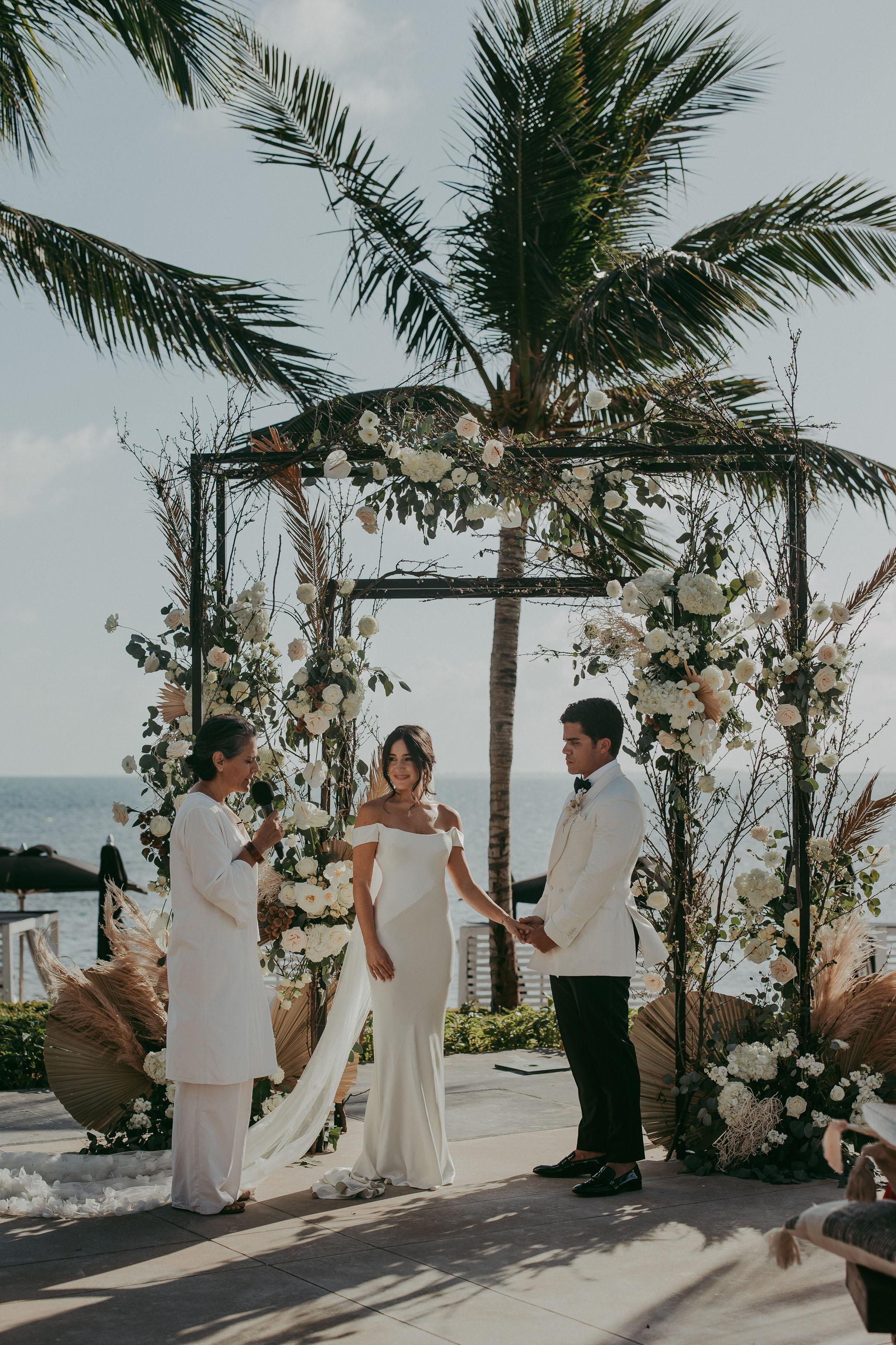 Cancun Boho Wedding