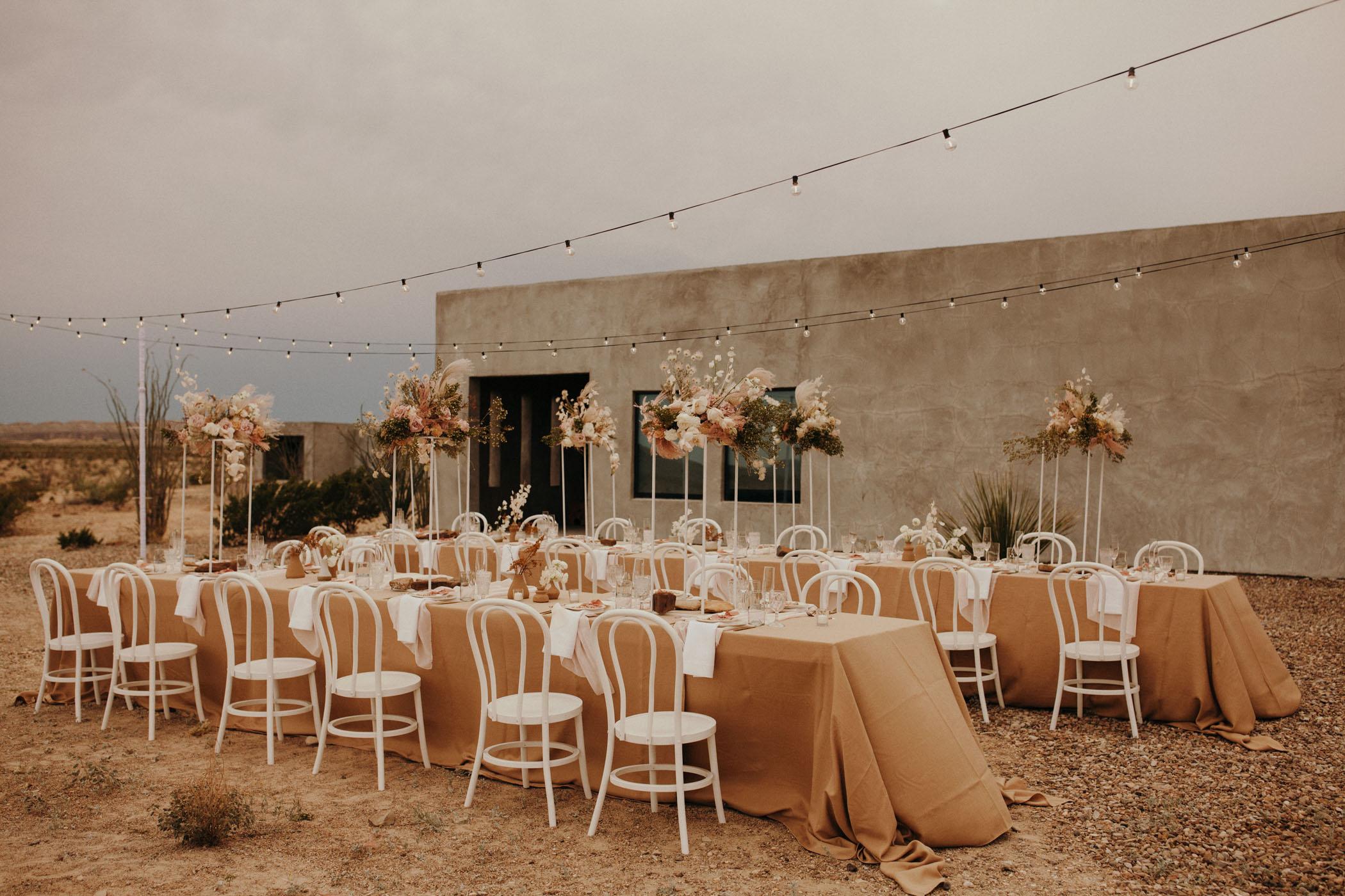 Desert Micro Wedding