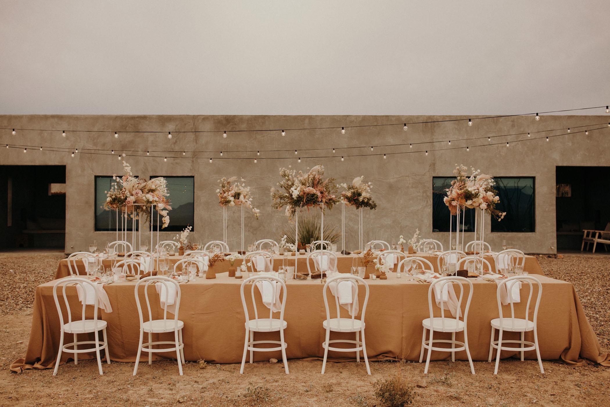 Modern Micro Wedding in the Texas Desert