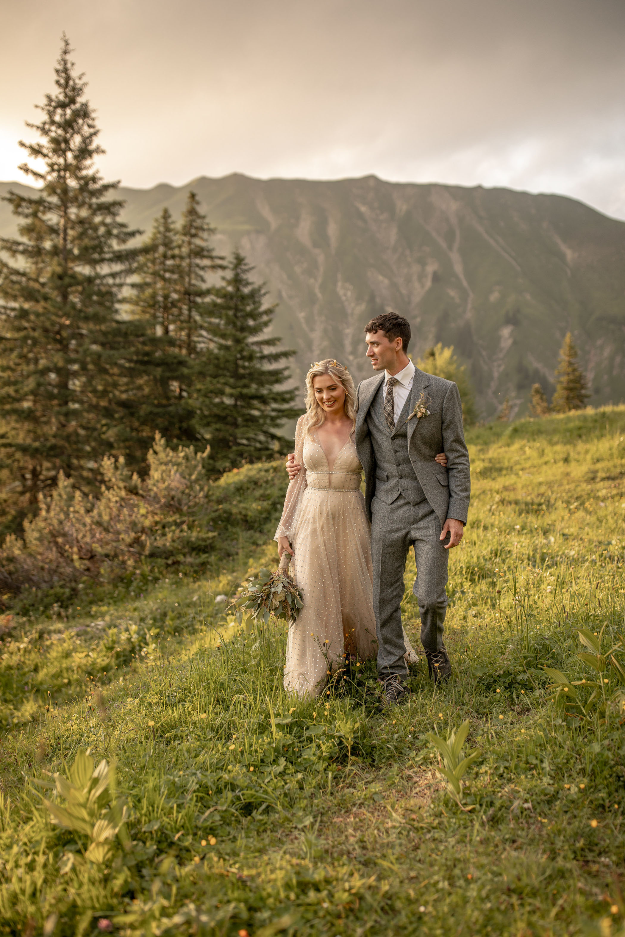 Austria Mountain Adventure Elopement