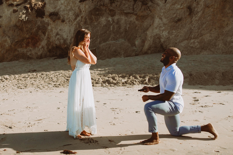 surprise proposal ideas on the beach